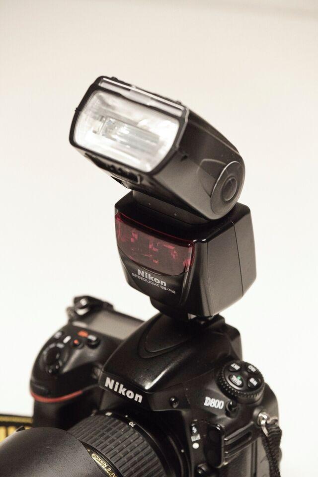 Nikon D800, spejlrefleks, 36 megapixels