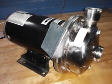 Scot 5 Hp Stainless Steel Centrifugal Pump 15 X 125