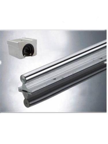 1pcs linear rails slide support SBR20-700mm rails+2pcs SBR20UU