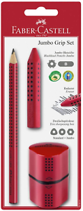 Red Faber Castell 580021 Jumbo Pencil-Set
