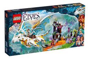 LEGO-41179-Elves-Queen-Dragon-039-s-Rescue-Building-Set