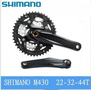 Shimano-Alivio-FC-M430-Crankset-Crank-crankset-9-speed-Square-Black-22-32-44T