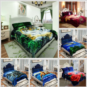 Heavy-Thick-Ultra-Warm-Soft-Plush-Bed-Blanket-For-Winter-King-Queen-Size-8-9lbs
