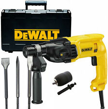 Dewalt D25033K 240v SDS+ Hammer Drill 3 Mode + Set of Chisels & Chuck & Adapter