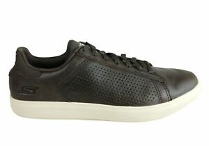 NEW-SKECHERS-MENS-GO-VULC-2-GRANDEUR-COMFORT-LEATHER-LACE-UP-CASUAL-SHOES