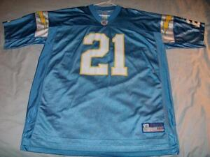 super popular fa2e9 fb1d3 Details about LaDainian Tomlinson 21 San Diego Chargers NFL Light Blue  Jersey Men's 2XL used