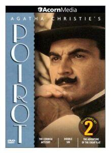 AGATHA-CHRISTIE-039-S-POIROT-1990-DVD-COLLECTOR-039-S-SET-2-3-EPISODES-David-Suchet