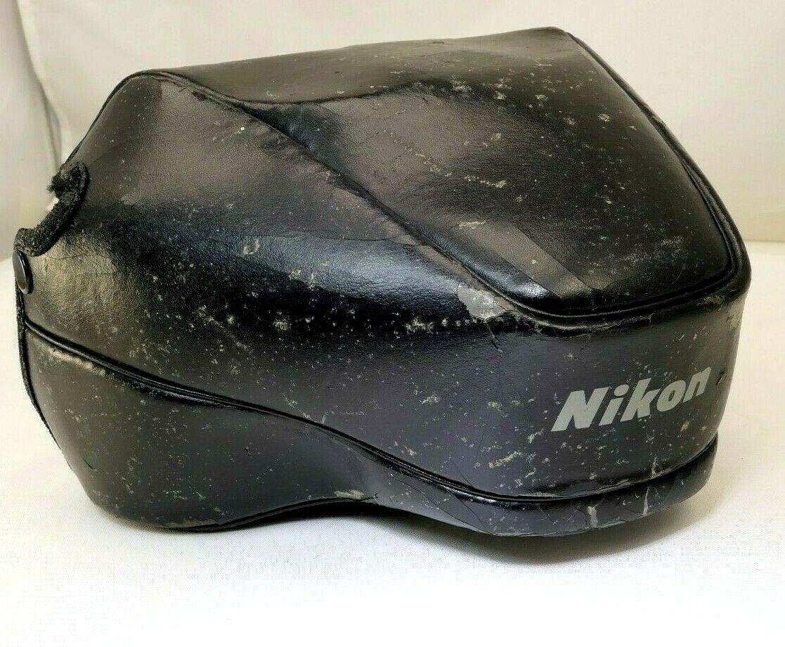 CF-37 Nikon ever ready case for Nikon AF N4004 cameras Genuine (poor condition)