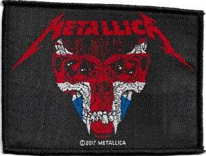 100-Official-Licensed-Merch-Woven-Sew-on-PATCH-Heavy-Metal-Rock-METALLICA-UK