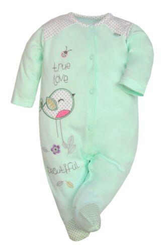 100/% Algodón Bebé Chicos Chicas Babygrow Pijama Mameluco Talla 0-12 meses Nuevos