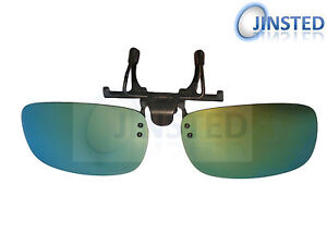 ed90fb75089 MIrrored Polarised Polarized Flip Flip-Up Clip On Clip-On Sunglasses ...