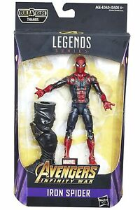 "Marvel Legends Avengers Infinity War Iron Spider 6/"" Action Figure BAF Thanos New"