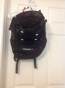 New unisex Reebok 1 series backpack(camo   black) with sneaker ...