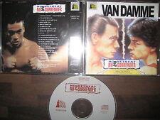 CD Karate Tiger Soundtrack No Retreat Surrender van damme Paul Gilreath