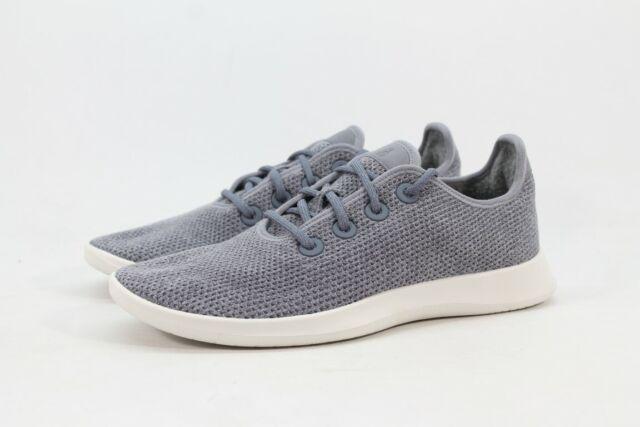 Allbirds Women/'s Wool Runners Natural Light Grey//White Sole Shoe NW//OB