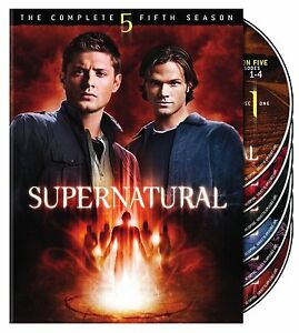 SUPERNATURAL-SEASON-5-DVD-THE-COMPLETE-FIFTH-SEASON-6-DISCS-NEW