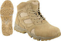 Desert Tan Military Forced Entry Deployment Combat Tactical 6boots Size 5 To 13
