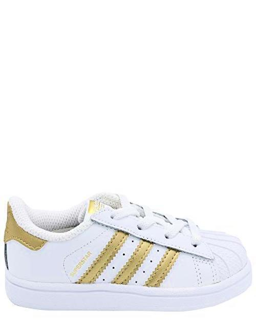 5e562ade638 adidas Originals Baby Superstar I White gold MET 9 M US Toddler for sale  online