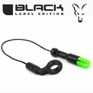 Optische Bissanzeiger Karpfen Angeln 7 Farben Fox Black Label Stealth Bobbin