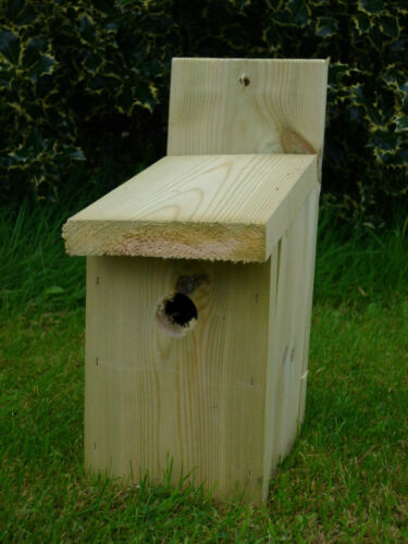 Bird Nesting Box x 10 Made using tannalised timber- won't rot away in a year!
