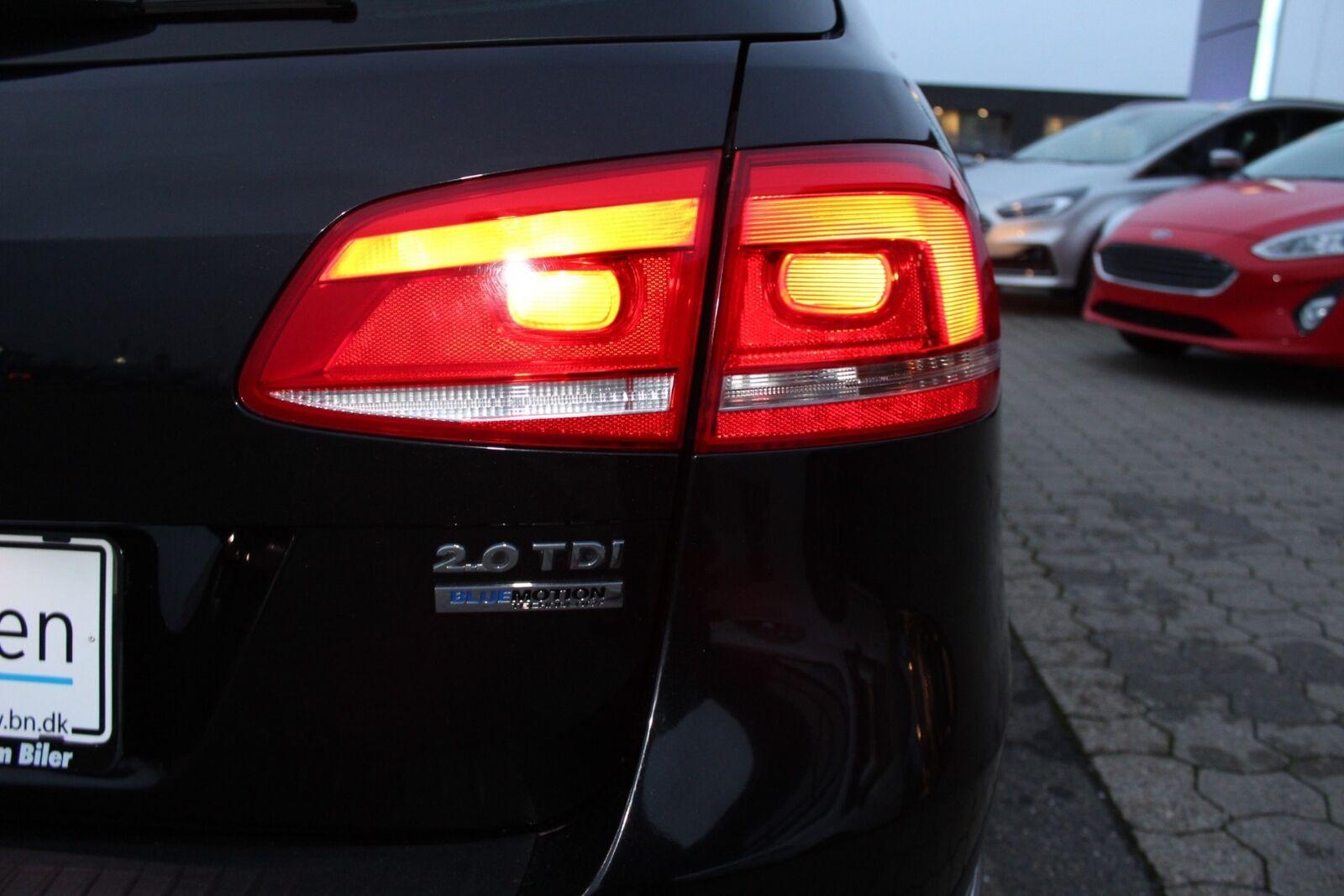 VW Passat 2,0 TDi 140 Comfortl. Vari. BMT - billede 3