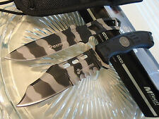Mtech USMC Urban Grunt Duo Bowie & Throwing Knife/Knives Combat Set 1032UC New