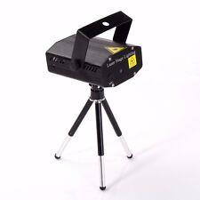 Mini R&G LED Laser Light Projector Stage Light Lighting Party Venue Club - Black