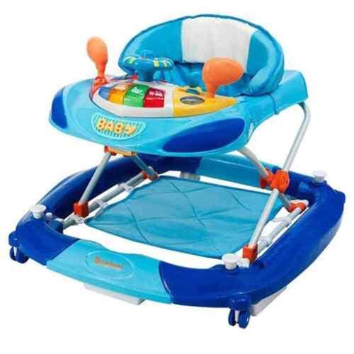 Baninni Lauflernhilfe Blau Laufhilfe Baby Walker Gehfrei Gehfrei Babywippe
