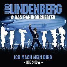 Ich-Mach-Mein-Ding-Die-Show-von-Lindenberg-Udo-amp-das-Pan-CD-Zustand-gut