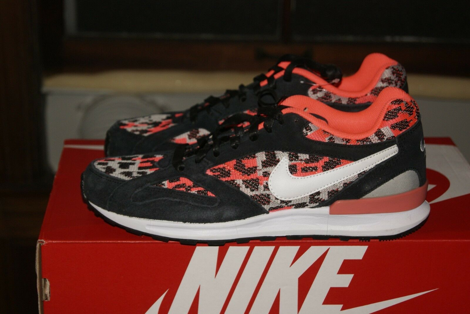 the latest 251d8 293e3 Mens Nike Air Pegasus Black Pink Pink Pink White Sz 9 11bcaf