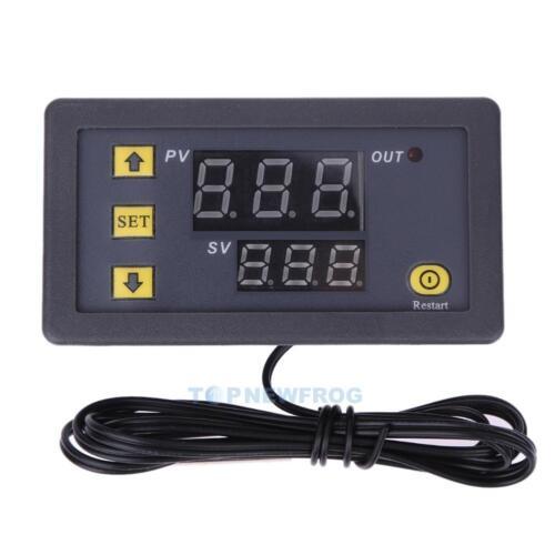 55~120℃ Thermostat Temperatur Sensor Controller 12V Digital Temperaturregler