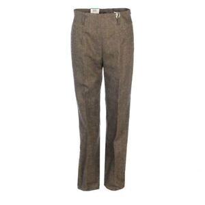 MAC-Pantalon-Gris-Super-Slim-Taille-Haute-Extensible-Taille-38-UK-12-Wp-1013
