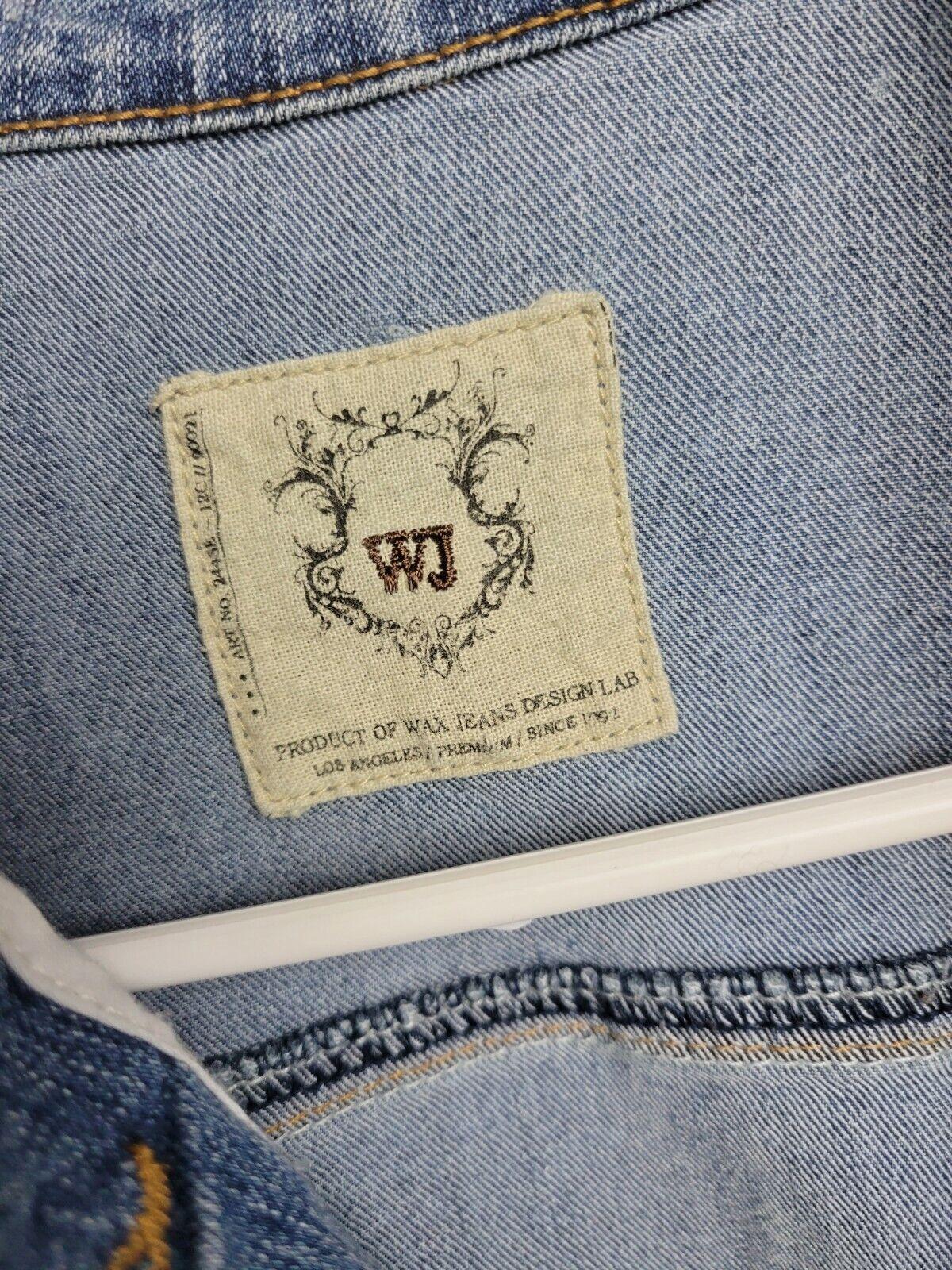 Womens Jean Jacket Small Wax Jeans - image 2