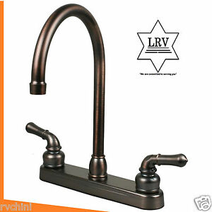 mobile home kitchen sink plumbing rubbed bronze rv mobile home motor kitchen sink faucet 9186