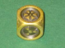 IRONDIE YELLOW ASSAULT Gold-gelber Metall Würfel