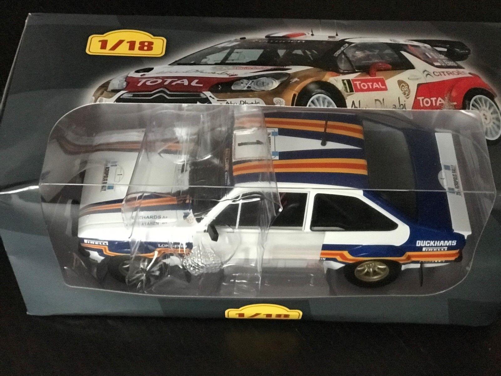 Ford Escort Rs 1800 Mk II 1981 Agence Vatanen Rally - Ixo Altaya 1 18 (EB26)