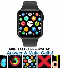 Reloj Inteligente para iPhone iOS Android Teléfono Bluetooth seguimiento para ejercicio Impermeable