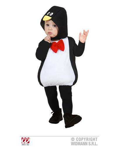 Childrens Penguin Fancy Dress Costume Pingu Artico animale outfit 104cm