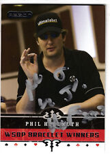 Phil Hellmuth 1989, 2012 World Series of Poker Winner, Hall of Fame SIGNED CARD