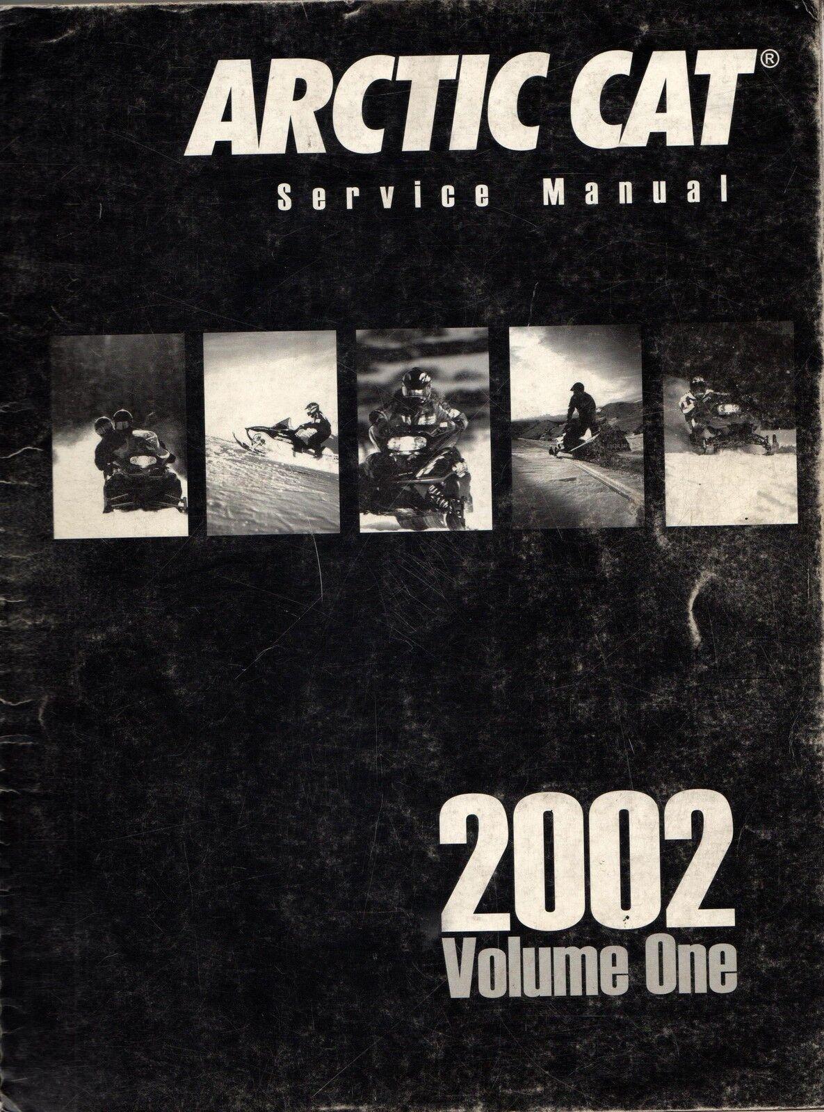 2002 ARCTIC CAT SNOWMOBILE VOLUME 1 SERVICE MANUAL P N 2256-457 (761)