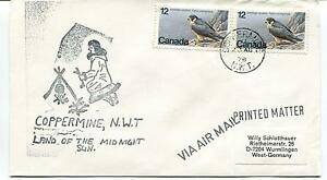 1978 Coppermine Land Of Midnight Sun Canada Polar Antarctic Cover Excellente Qualité