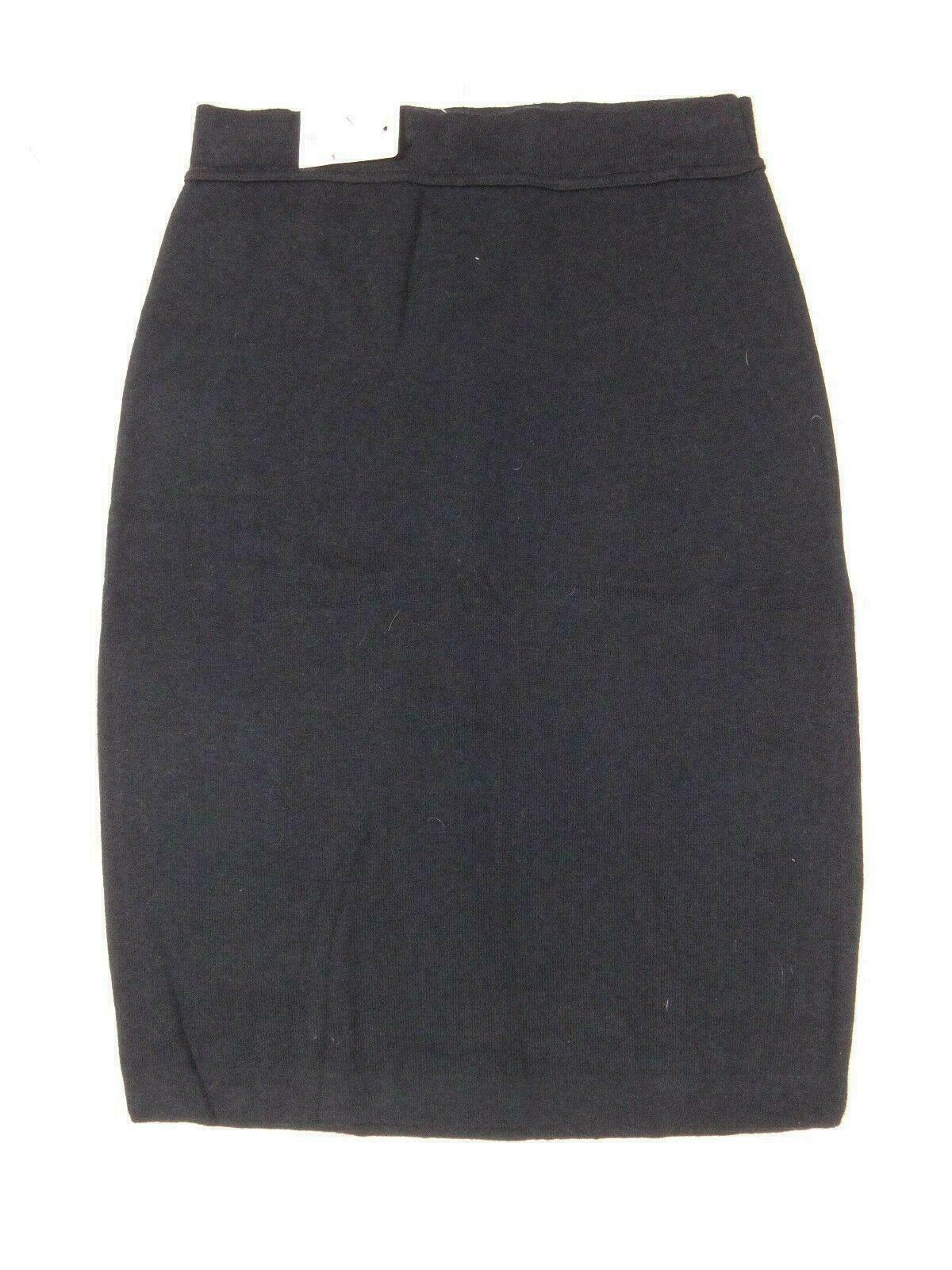 12595 Womens Skirt MONARI Size S Dark Blue