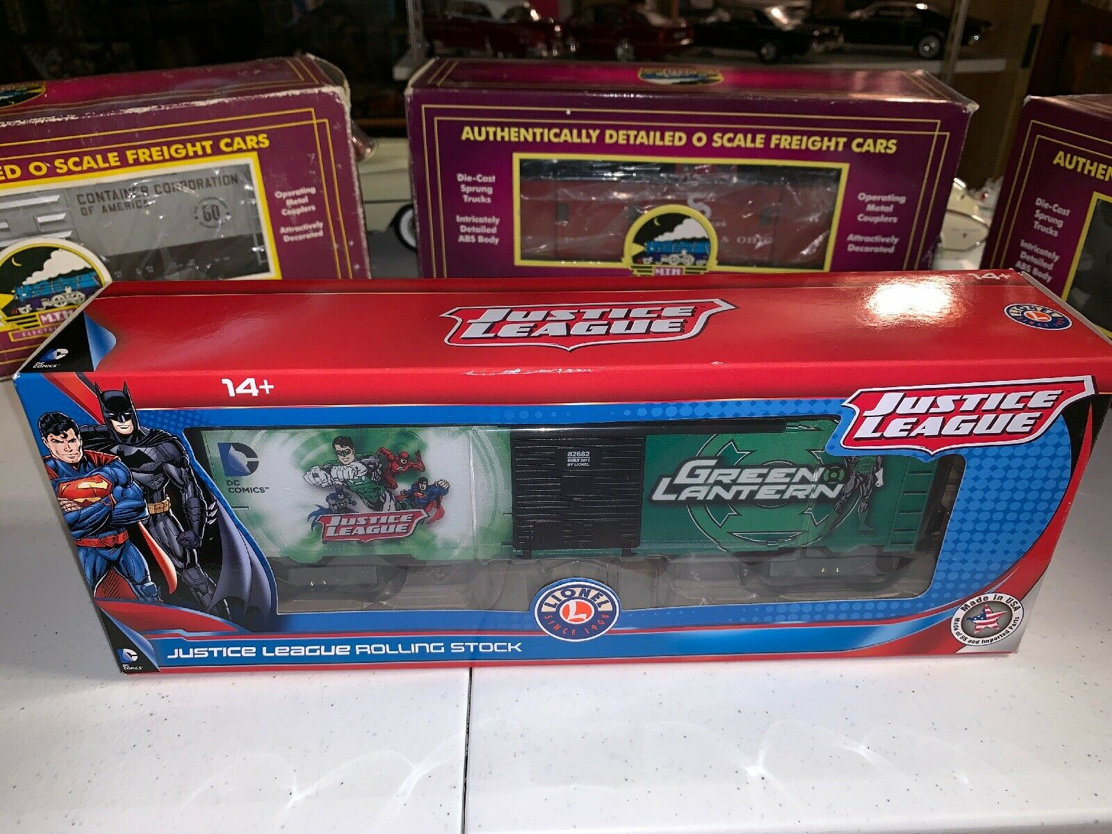 precios ultra bajos 6-82682 Liga De La Justicia Linterna verde Furgón Lionel Lionel Lionel DC Comics Die Cast   estar en gran demanda