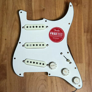 Open-Box-Fender-Squier-Classic-Vibe-50-s-Strat-LOADED-PICKGUARD-Pickup-Set