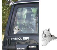 Game Hunting Motif Wild Boar Keiler - Head Car Caravan Truck Bike Bus Sticker