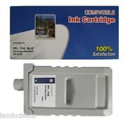 Wf Pfi-704 Blue 700ml Ink Cartridge Compatible For Canon Printer Ipf 8300s 8300