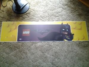 Details about Lego Batman Toys R Us Acrylic Plastic Store Display Banner  Sign