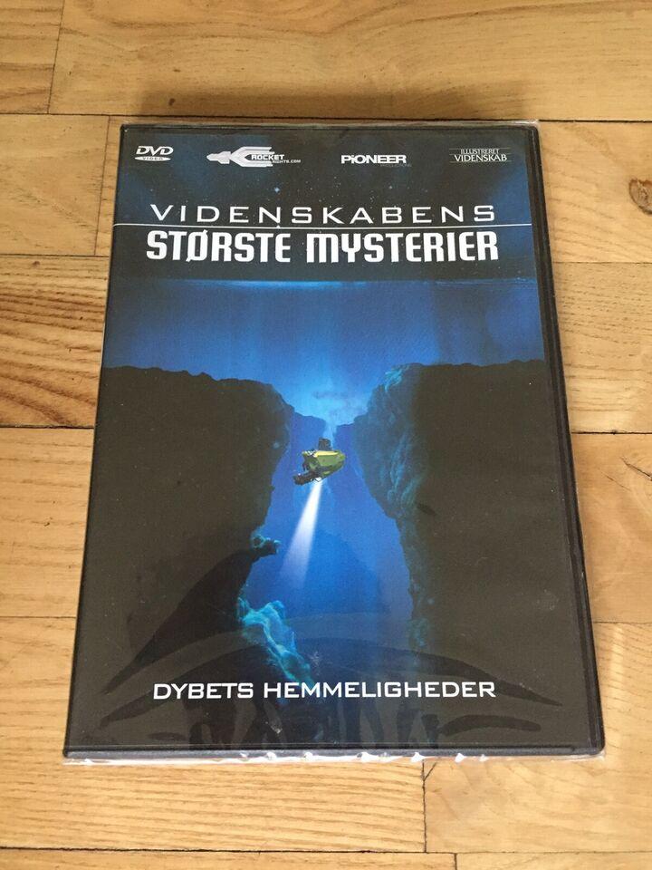 Videnskabens Største Mysterier, DVD, dokumentar