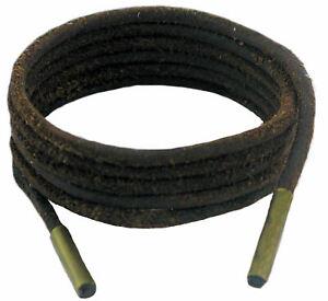 Schuh Und Stiefel Schnürsenkel Brown 3 MM Rund Leder 45 cm-200 CM