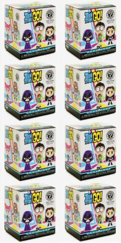 BLIND PACK Teen Titans GO! New 8PC Funko Mystery Minis Vinyl Figure